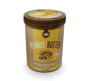 TREC BETTER CHOICE Peanut Butter 1000 g