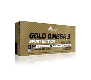 OLIMP GOLD OMEGA 3 SPORT EDITION 120 kaps.