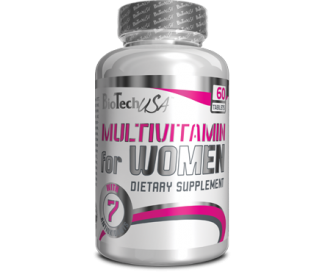 Bio Tech Multivitamin for Women 60tab.