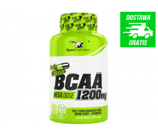 SPORT DEFINITION BCAA 1200mg Thats the Capsule 120 kaps